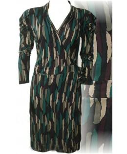 Új, átlapolós ruha - M