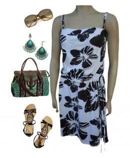 Könnyű nyári ruha - 2XL