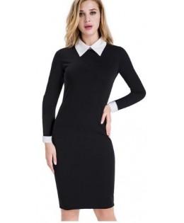 Új, galléros ruha / L