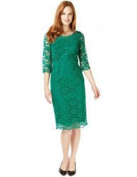 Új, zöld csipke ruhák